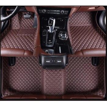 ZRCGL universal Car floor mat for Chevrolet Aveo Captiva Sonic Sail Spark Blazer epica Camaro Equinox Cavalier Trax Cruze