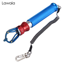 купить Lawaia Fishing Pliers Fish Grip Touch Type Multifunctional Stainless Steel Portable Clip Fish Anti-slip Control Fish Pliers Tool дешево