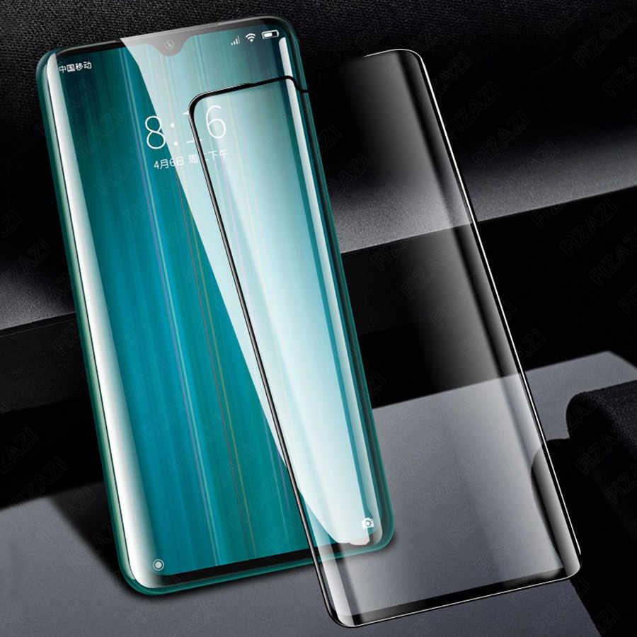 9D Xiaomi Redmi Note 8 7 Pro Tempered Glass Full Cakupan Layar Pelindung untuk Xiaomi Redmi K20 Pro Pocophone F1 kaca Tempered