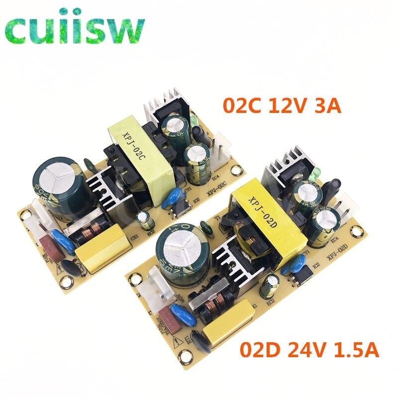 AC DC 12V3A 24V1.5A 36 Вт импульсный Питание модуль голой цепи 220V 12В/24В доска для замены/ремонт|Импульсный источник питания|   | АлиЭкспресс