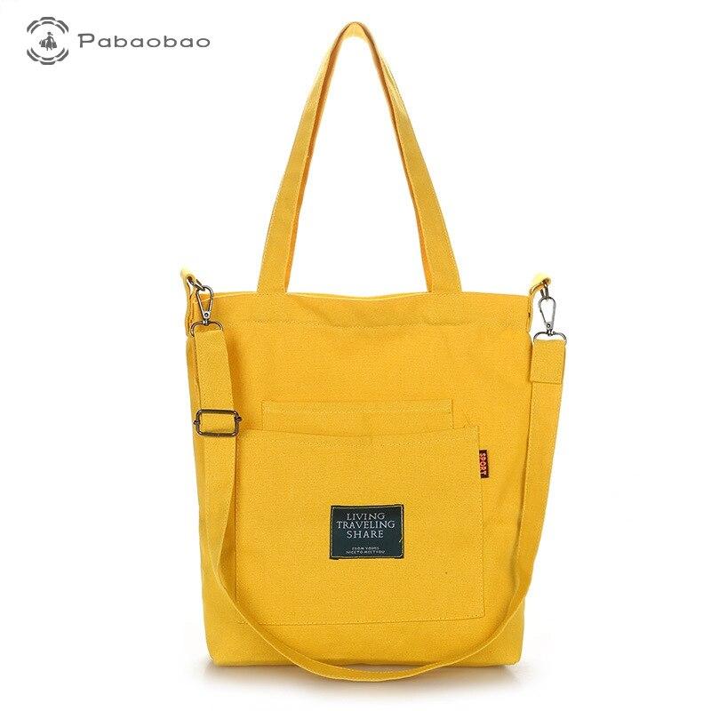 Travel Handbags Canvas Bag Cloth Purses