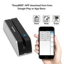 ديفتون MSR X6bt بلوتوث USB قارئ بطاقات مغناطيسية الكاتب MSRX6BT متوافق مع msr605X msrx6 msr x6
