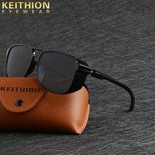 Мужские и женские круглые солнцезащитные очки keithion брендовые