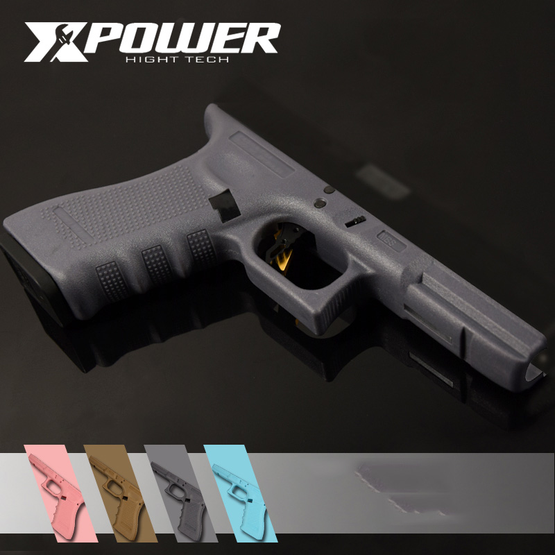 XPOWER Nylon Grip For Airsoft Pistol Generation 4 GLOCK17 Paintball Accessories Hardened Outdoor Game Wargame