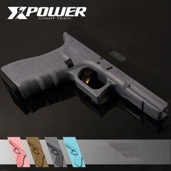 XPOWER-empuñadura de nailon para pistola GBB de generación 4 GLOCK17, chorro de Gel, Airsoft, accesorios para Paintball, juego de guerra al aire libre endurecido
