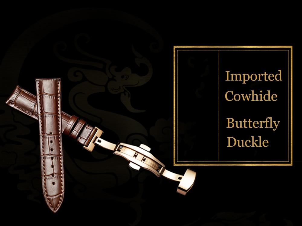 New GUANQIN Original Tourbillon watch men top brand luxury waterproof skeleton Sapphire Mechanical Tourbillon relogio masculino 12