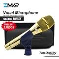 10 шт. высокое качество специальное издание KSM9 Профессиональный живой вокал KSM9G динамический проводной микрофон караоке суперкардиоидный П...