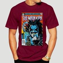 Camiseta negra con estampado de la patrulla Doom para hombre, camisa con estampado de dibujos animados de personajes de Doom Patrol, Lobo Alien Bounty Hunter, 8905X