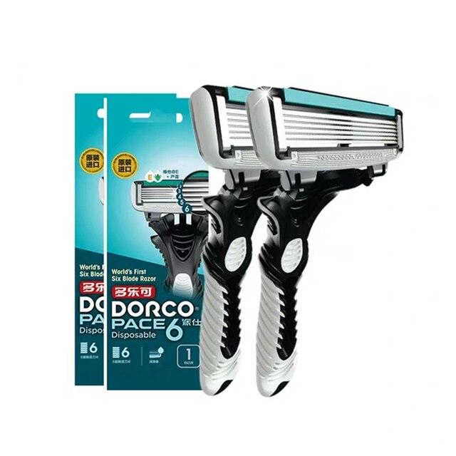 Станок для бритья DORCO Pace 6, 2 шт