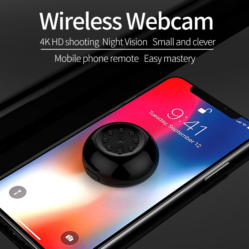 SQ17 Mini caméra IP Wifi HD 1080P caméscope vidéo 4K caméra Vision nocturne sans fil caméra magnétique Wifi Mini caméscope - 4