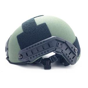 Image 5 - ACh casque pare balles tactique haute coupe armure pare balles aramide core casque NIJ IIIA 3A