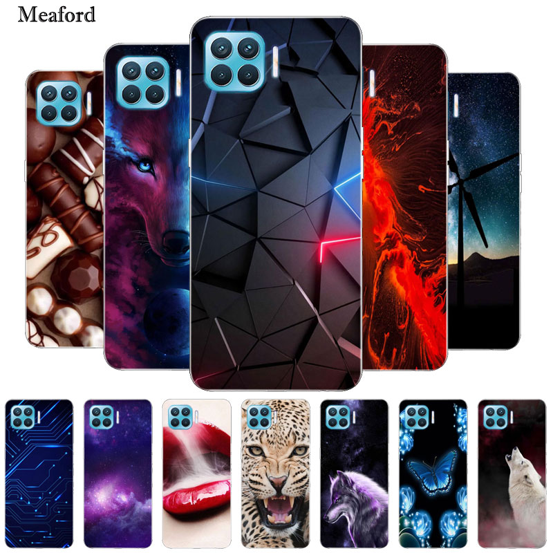 For Oppo Reno4 Lite Case Reno 4 Lite Bumper Silicone Tpu Soft Phone Cover For Oppo Reno 4 Lite Cases Cartoon Fundas Reno 4lite Fitted Cases Aliexpress
