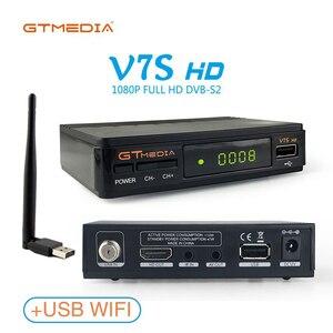 Image 5 - Récepteur Satellite GTMedia V7S Full HD décodeur TV DVB S2 + mise à niveau WIFI USB par récepteur tv Freesat V7
