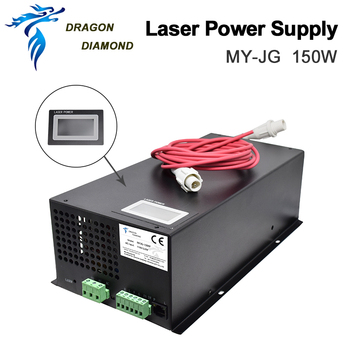 цена на 150W CO2 Laser Power Supply for CO2 Laser Engraving Cutting Machine MYJG Laser Power Supplies Series Category