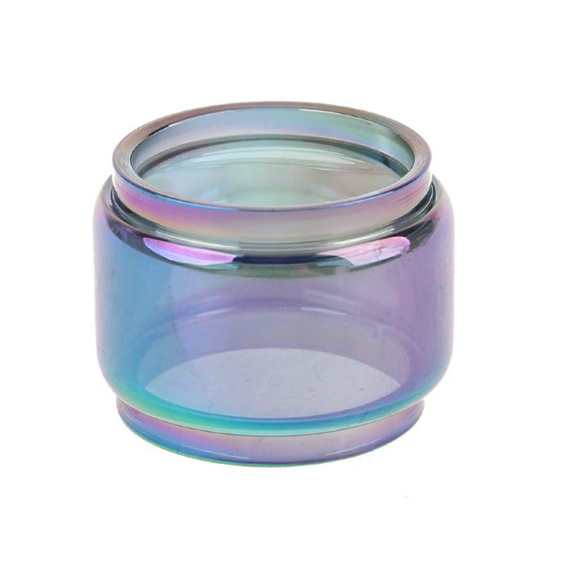 Rainbow Color Pyrex Glass Tube Fatboy Glass Tank For Kylin Mini Tank Atomizer
