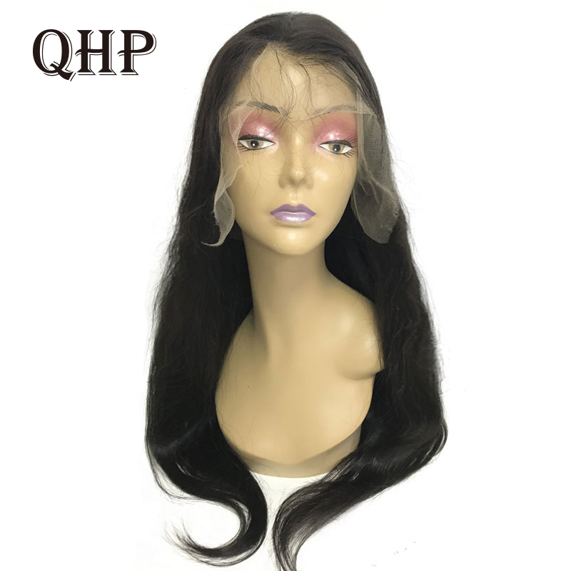 Swiss Transparent 13x4 Lace Front Wig Straight 8-26inches 180% Density Pre Plucked With Baby Hair Brazilian Remy Hair Wigs
