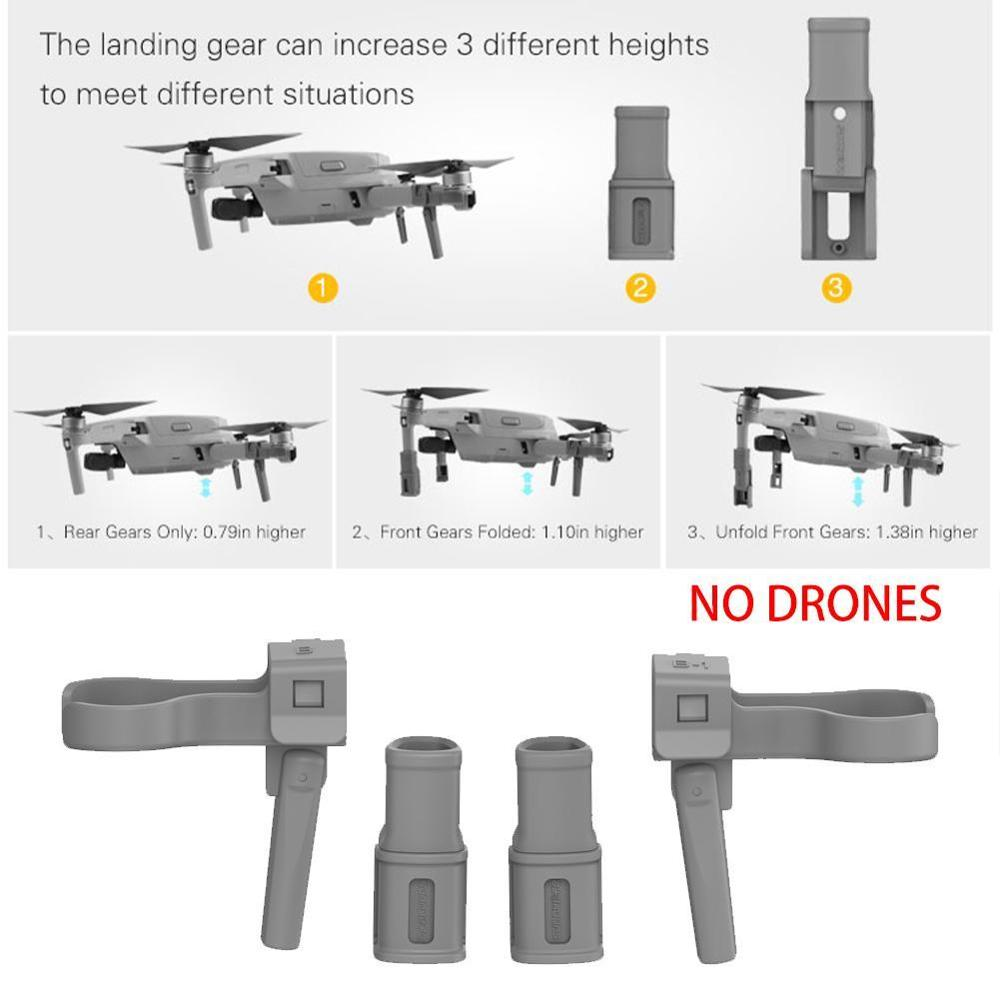 lowest price Foldable Support Leg Heightening Landing Gears Protectors for DJI Mavic Air 2 Drone Accessories