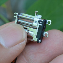 Mini 5mm 2-fase 4-wire Precisie Micro Planetaire Volledig Metalen Versnellingsbak Gear Stappenmotor Stappenmotor lineaire Schroef Staaf Slider(China)