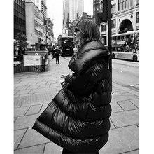 AEL куртка с хлопковой подкладкой для женщин, теплое Яркое пальто с большим отворотом, модная Высококачественная женская верхняя одежда на шнуровке, Зимняя мода