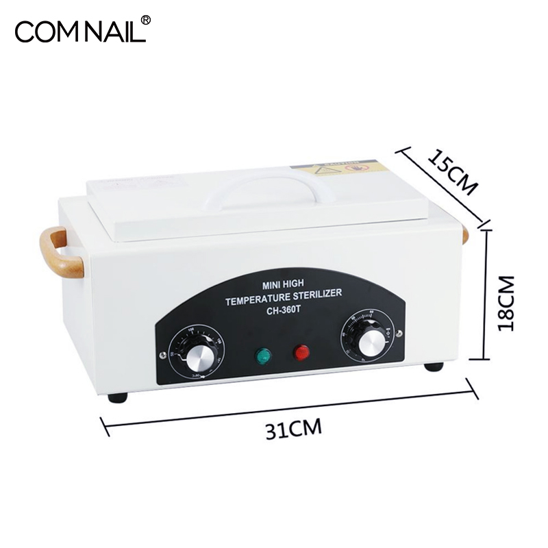 Image 2 - 300W Portable Dry Heat High Temperature Sterilizer Medical Autoclave Manicure Tool Sterilizer For Nails Pedicure Salon-in Nail Art Equipment from Beauty & Health