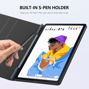 Tablet Case for Galaxy Tab S6 Lite 2020,Ultra-Slim Smart Folio Shell Cover Magnetic Absorption Case For Galaxy Tab S6 Lite 10.4