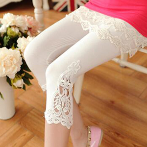 Summer Leggings XS-7XL Plus Size Leggings Women Cotton Short Lace Leggings Size 7XL 6XL 5XL 4XL 3XL XXL XL L M S