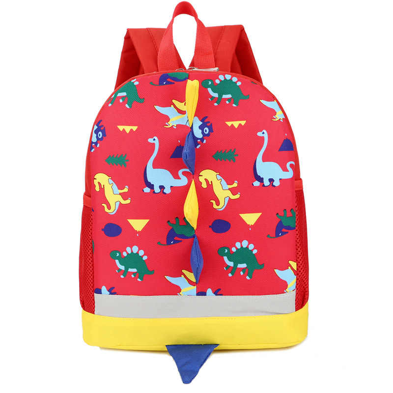 Children Bag Cute Cartoon Dinosaur Kids Bags Kindergarten Preschool Backpack For Boys Girls Baby School Bags 3-4-6YearsOld