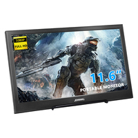 11.6 Inch 1920X1080 Portable Monitor IPS Display HDMI gaming monitor pc monitor for Raspberry Pi PS3 PS4 Xbox360
