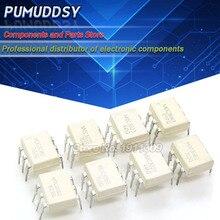 10PCS MOC3020 MOC3021 MOC3022 MOC3023 MOC3041 MOC3043 MOC3052 MOC3061 MOC3062 MOC3063 DIP6 DIP optoacoplador novo e IC