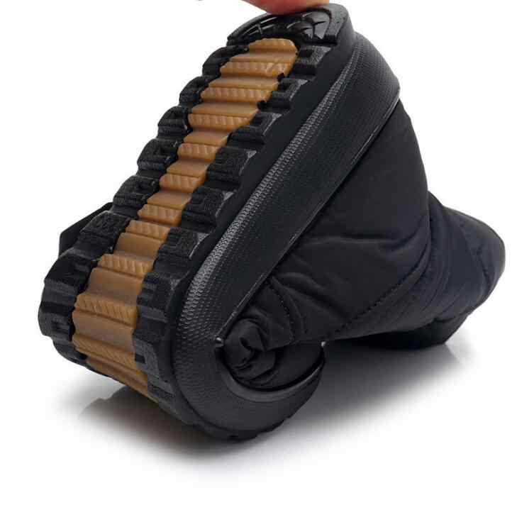 Süper sıcak-40 derece Kadın kar botları platformu sıcak kış çizmeler peluş su geçirmez kaymaz çizmeler kadın kış ayakkabı Wyq173