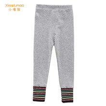 Демисезонные леггинсы для девочек 2020 брюки повседневные штаны
