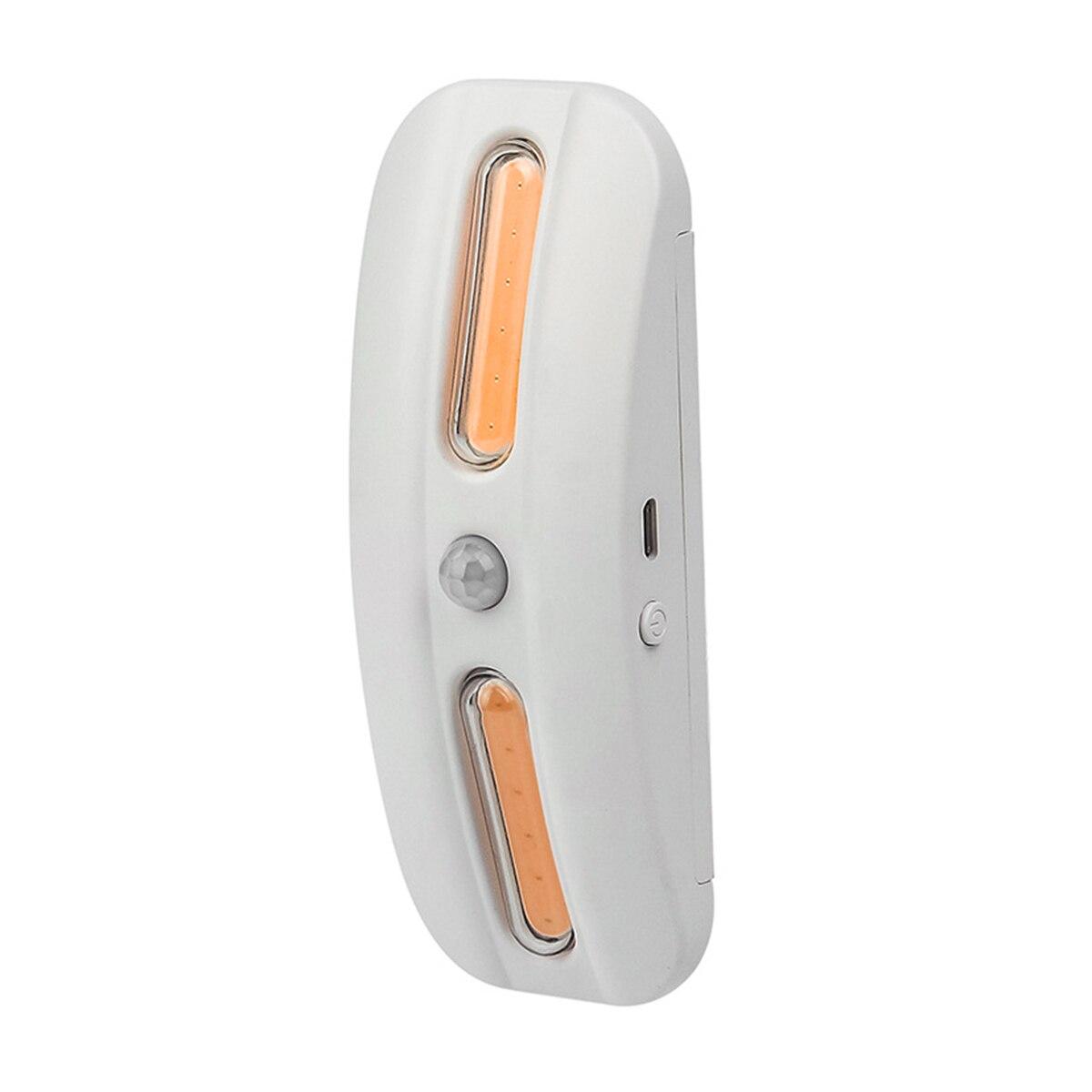 Motion Activated LED Night Light UV Sterilizing Light USB Rechargeable Motion Sensor Light For Toilet Cabinet Sterilization Tool