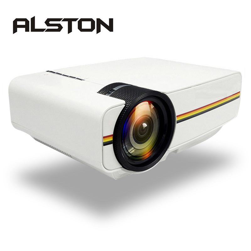 LED Projector Bass-Speaker Yg400-Upgrade ALSTON YG410 Home Cinema Portable 1080P Beamer