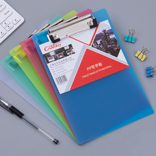 5pcs A4 Folder Board Acrylic Transparent Writing Board Hard Board Back Board Stationery School Office Supplies