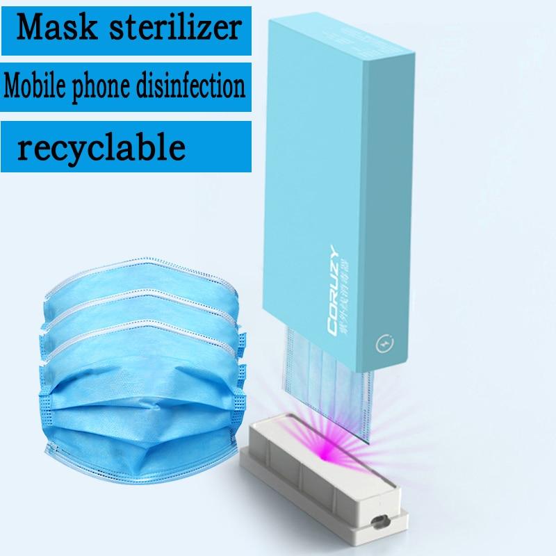 Btx Hot Sale Uv LED Light Portable Disinfection Stick Box Mobile Phone Disinfection Box Masks