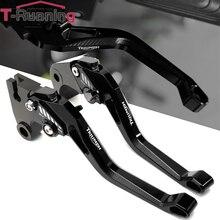 قابل للتعديل الفرامل ليفر ل انتصار النمر 800 2014 TIGER800 XC 2013 2011 2012 دراجة نارية CNC الألومنيوم للتمديد عتلات الفاصل