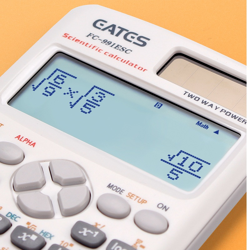FX-991ES-C Scientific Calculator  471 functions  for school office two ways  New
