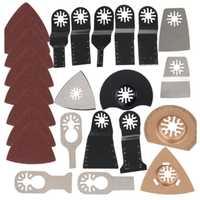 41Pcs Oszillierende Multitool Sägeblatt Kit Set für Fein Bosch Makita Multi Werkzeug B1 Erneuerer Power Werkzeuge Zubehör