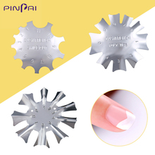 French Nail Art Templates Easy Poly Tips Styling Tools Gel Polish Smile Line Edge Cutter DIY Manicure Tool 073