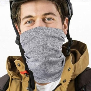 Unisex Neck Gaiter Scarf with Filter Pocket Tube Bandana Motorcycle Half Face Cover Outdoor Cycling Sunscreen Magic Mask(China)