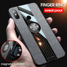 New 2019 Finger Ring Case For Xiaomi Mi Max 3 2 Car Holder Back Cover Shock-proof Phone Business Xiomi max3