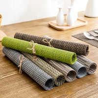 Vanzlife-alfombrilla aislante e impermeable para cocina, estera de mesa rectangular europea, de mesa, de estilo occidental