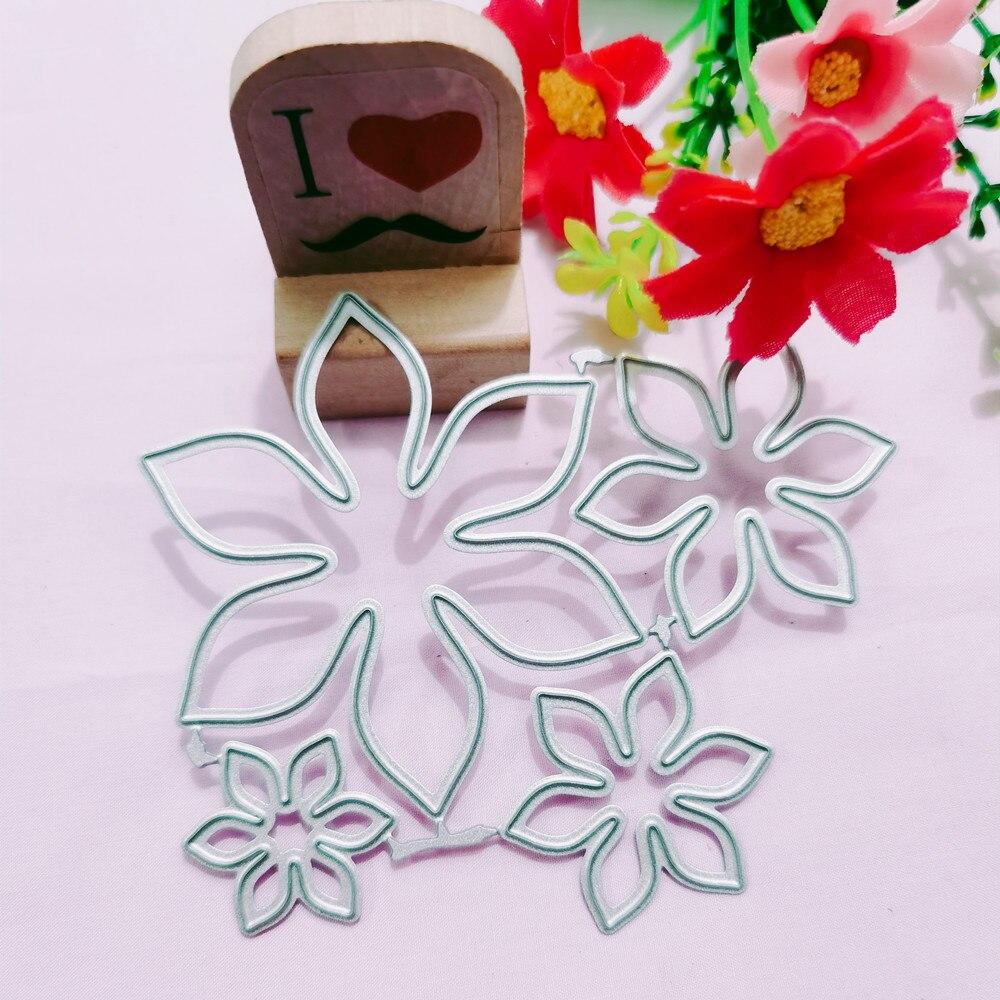Flower Metal Cutting Dies for DIY Scrapbooking Album Paper Cards Decorative Crafts Embossing Die Cuts