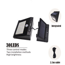 Solar 30LEDs Dark Sensor…