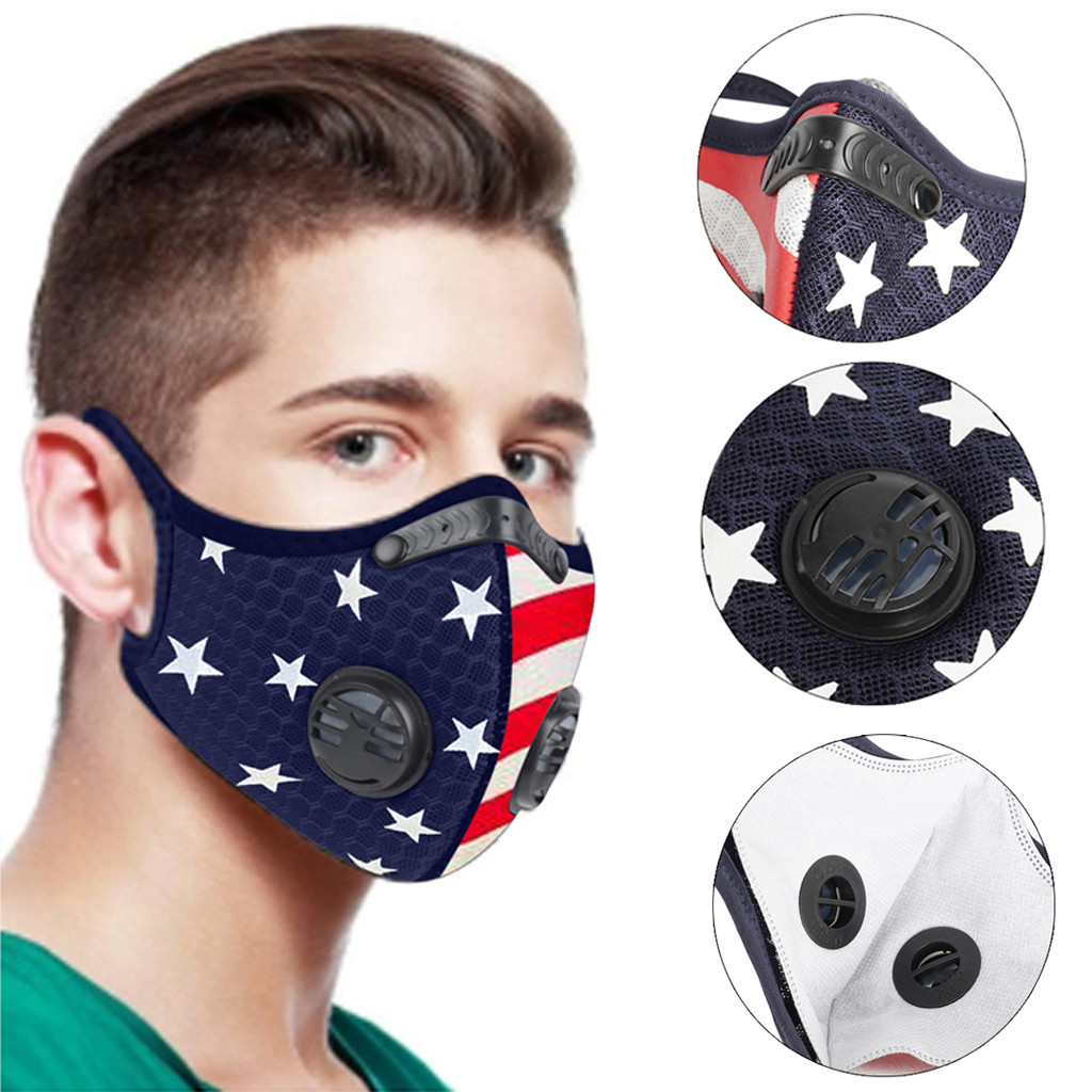 Vietnam Veteran Outdoor Face Mouth Mask Windproof Sports Mask Ski Mask Shield Scarf Bandana Men Woman
