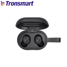 [Saham] Asli Tronsmart Gagah Mengalahkan Tws Bluetooth 5.0 Earphone dengan Qualcommchip Deep Bass Tahan Air Nirkabel Earphone(China)