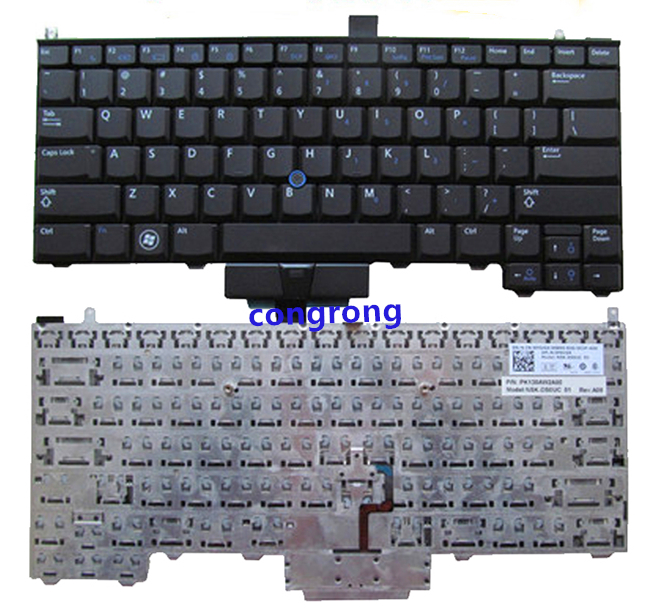 Laptop  Replacement Keyboard For Dell Latitude E4310 With Pointer