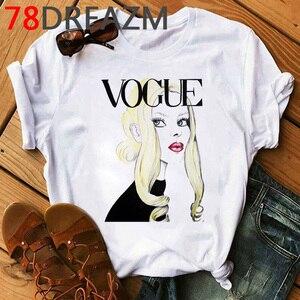 Image 5 - New Vogue Princess Harajuku Graphic T Shirt Women 2020 90s  Kawaii  Ulzzang Cartoon T shirt  Grunge Hip Hop Tops Tees Female