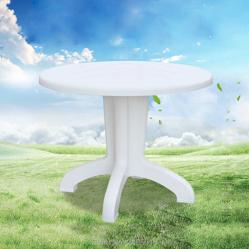 Pp Plastic Patio Dining Table
