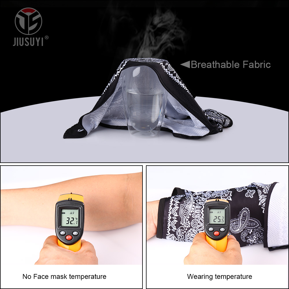 Ultimate SaleWrap Scarf Headband Gaiter-Cover Hijab Face-Scarves Paisley Neck Triangle Girl Breathable